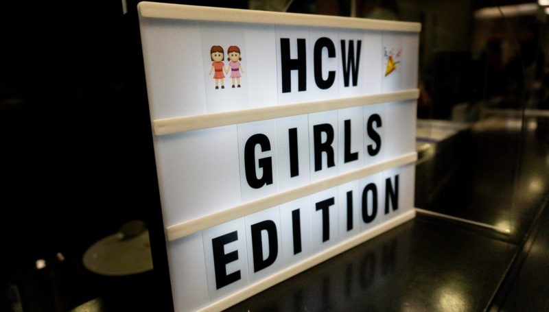 HCW – Girls Edition 🤾🏼♀️💙🤍