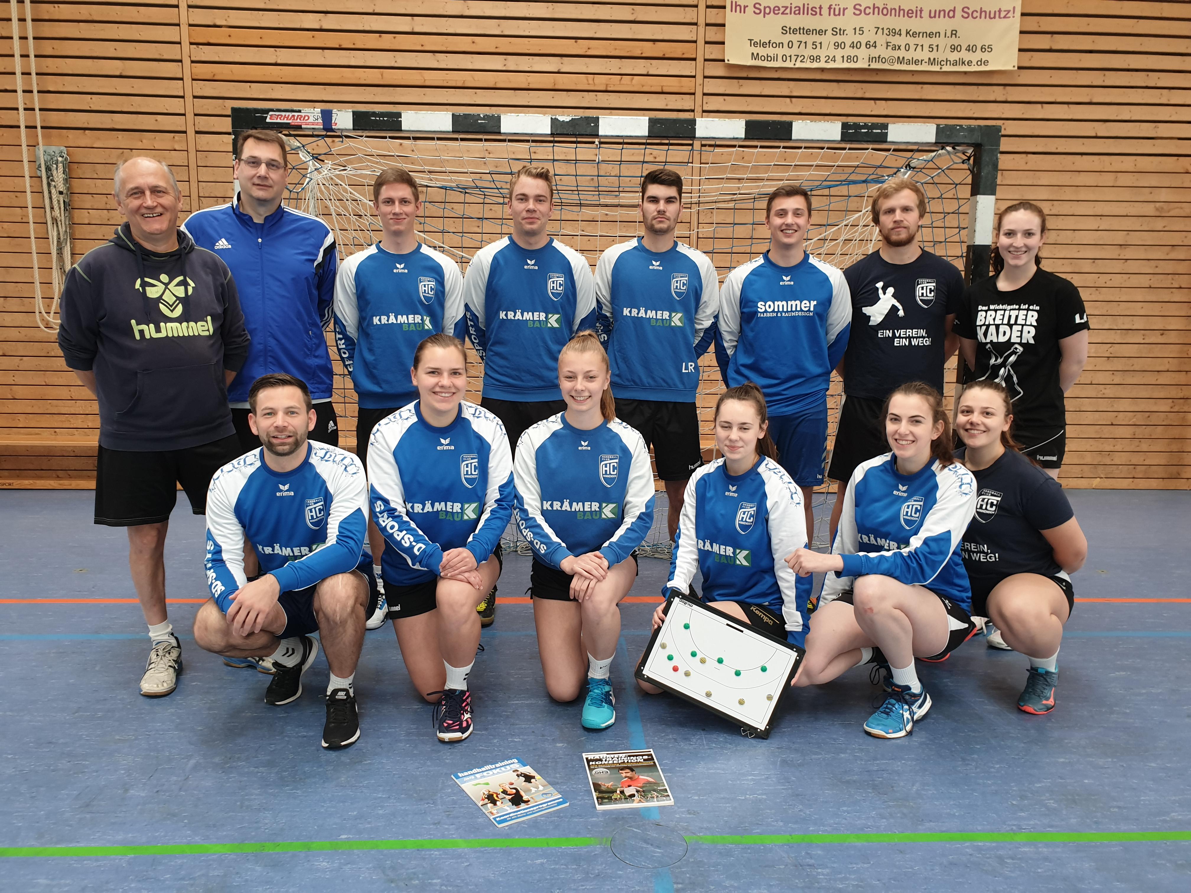 Dezentrale Jugendtrainer- und Kinderhandballausbildung des Bezirks Rems-Stuttgart