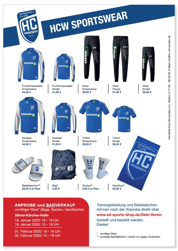 thumbnail of HCW Sportswear